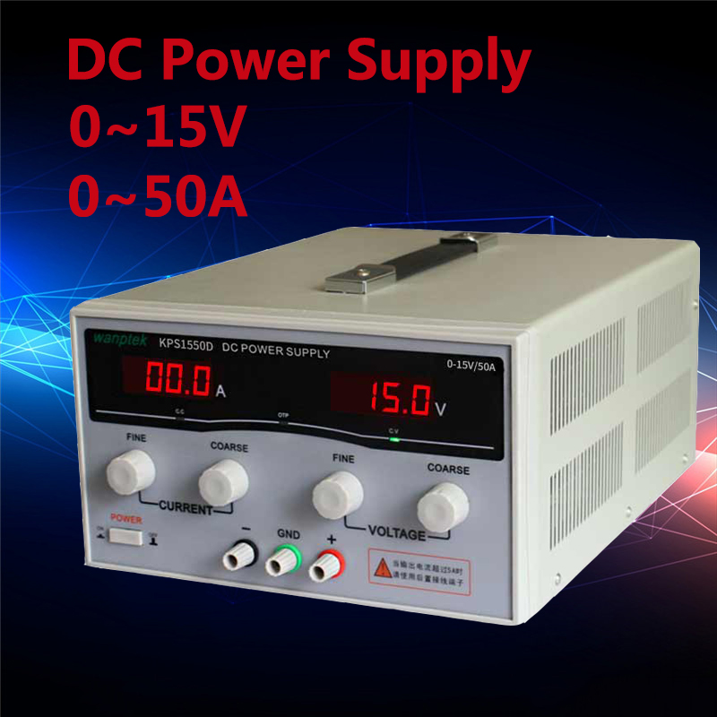 Professional adjustable three Display DC power supply 15V 50A High Power Switching power supply Voltage Regulators rps3020d 2 digital dc power adjustable power 30v 20a power supply linear power notebook maintenance