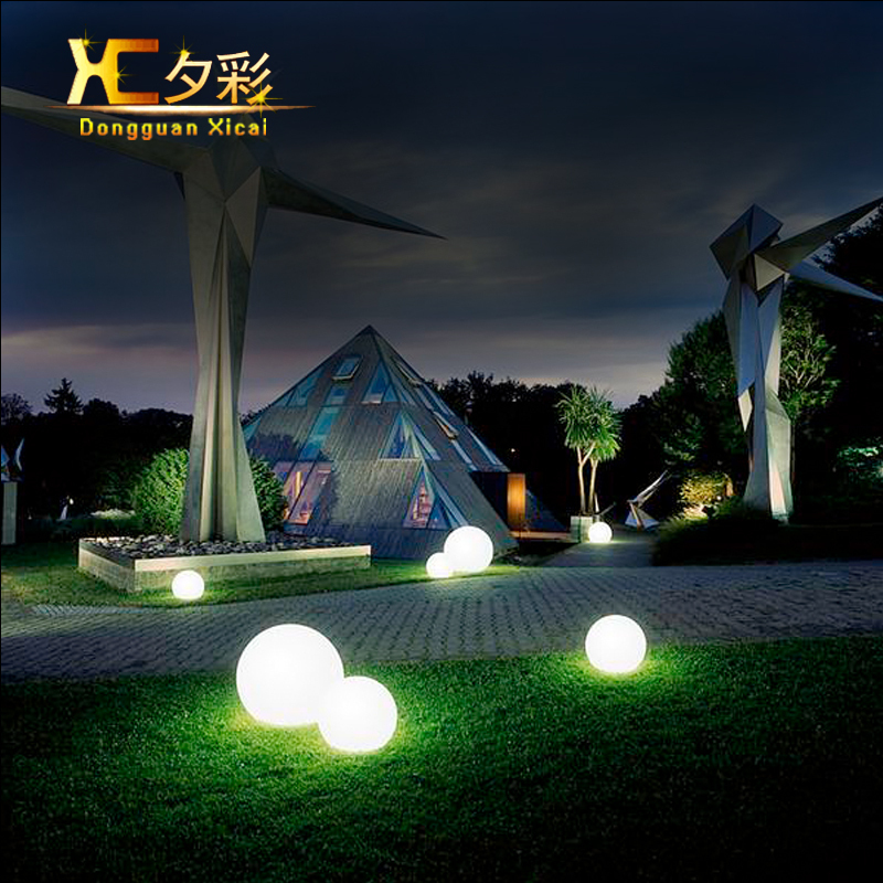 Decorative Ball Lights Amazing 35Cm Outdoor Led Decorative Ball Lighting Home Garden Landscape Decorating Design