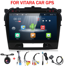 "10.1"" 2GB RAM Octa 8 Core Android 9.0 Car DVD GPS Navigation Multimedia Player Car Stereo for Suzuki Vitara 2017 Radio recorder"
