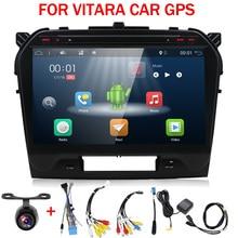 10,1 «2 Гб ОЗУ 4 ядра Android 7,1 Автомобильная dvd-навигационная система мультимедийный плеер автомобильный стерео для Suzuki Vitara 2017 радио рекордер
