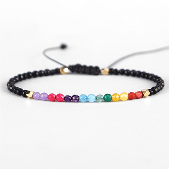 Bracelet 7 Chakras Du Bonheur