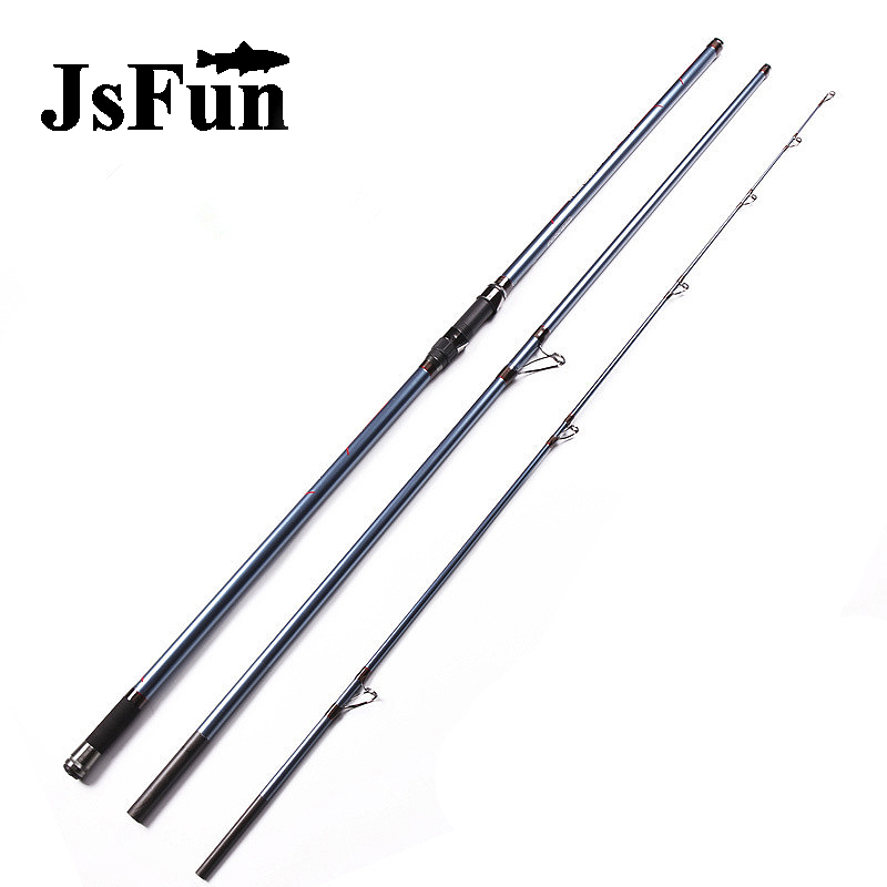 4.2m distance throwing surf fishing rod super strong surf casting trolling pole carbon fiber spinning rod superhard 270g FG174