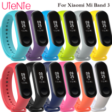 For Xiaomi Mi Band 3 smart watch sport strap frontier/classic silicone wrist xiaomi mi band accessories bracelet