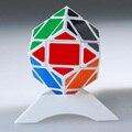 2016 Nuevo Cubo Mágico 3x3x3 Diamante Cubo Mágico Puzzle Cubo de la Velocidad Juguetes Clásicos de Aprendizaje Educación regalos Para niños Blanco