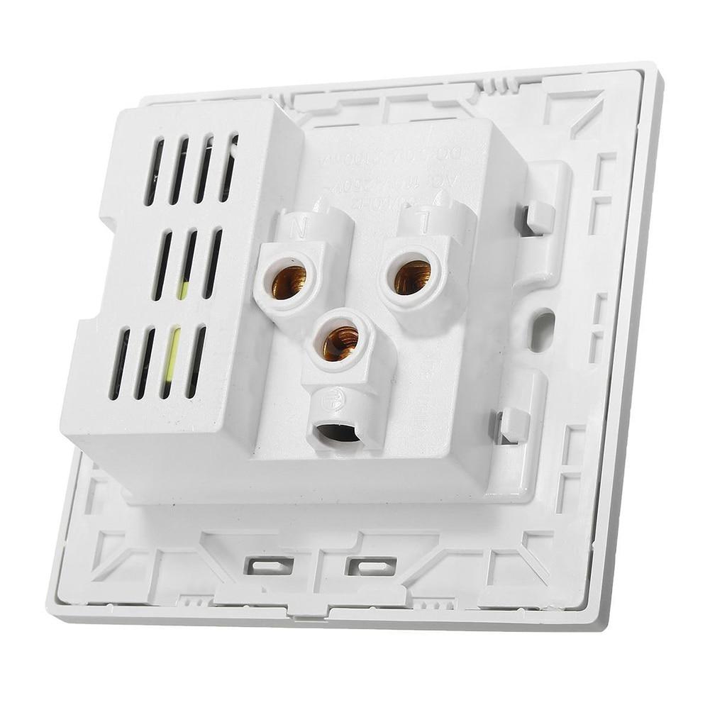 FUNN-2.1A Dual <font><b>USB</b></font> <font><b>Wall</b></font> <font><b>Charger</b></font> Socket Adapter Universial Power <font><b>Outlet</b></font> Panel wite Switch