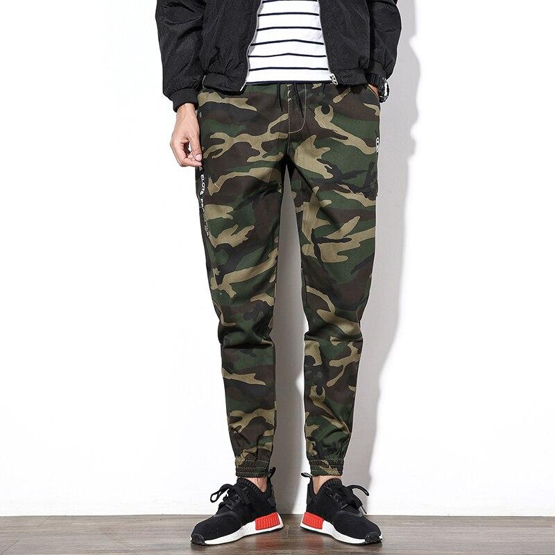 Men Pants Trousers Camouflage-Pants Casual-Style Big-Size Comfortable M-5XL