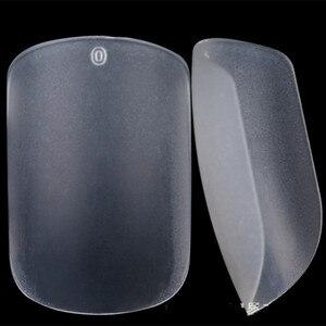 Image 4 - Uñas postizas transparentes y más finas, manicura de Uñas postizas, 10 tamaños A0533, 500 Uds.