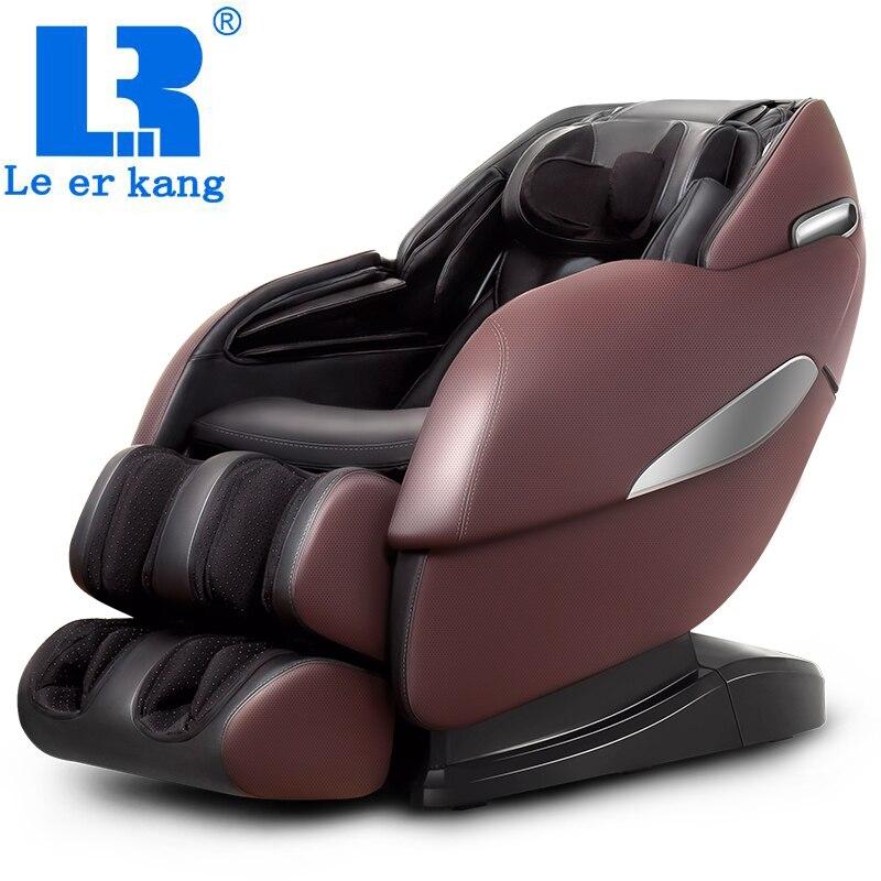 Chaud!!! LEK988X fauteuil de massage professionnel complet pour le corps recline automatique pétrissage massage canapé vente masseur électrique sans gravité