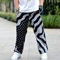 2017 Новая Мода Гарем Брюки Мужские Бегунов Gymshark Печатных Свободные Мужчины Брюки Hip Hop Тренировочные брюки плюс размер 3xl