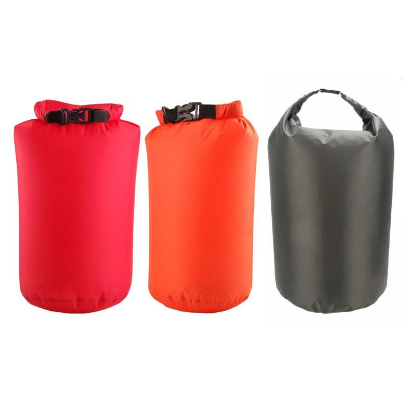 8L 40L 70L Waterproof Dry Bag Pack Sack Outdoor Swimming Rafting Kayaking River Trekking Bags For Kayak Red/Army Green/Orange