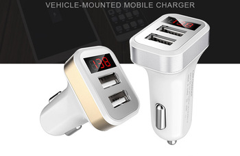 2/3 USB 2.1A /1A car-styling Car Charger phone for OnePlus 3 3T 2 X One for OPPO F3 Plus A37 A39 A57 A59 A59s F1 Plus R9 F1s