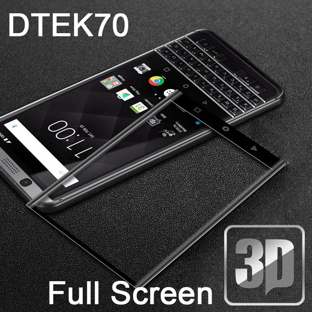 9H 3D Tempered Glass LCD Hard Curved Full screen protectors Film guard cover For BlackBerry Priv Keyone DTEK70 Protective film