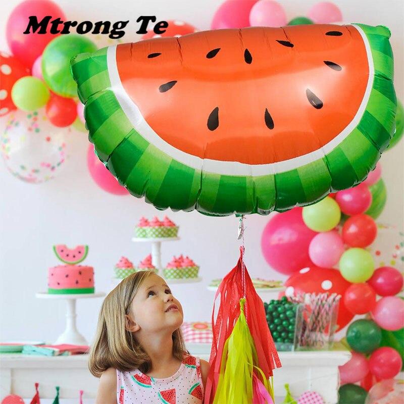 10pcs Flamingo Pineapple Watermelon Balloons Baby Shower Birthday