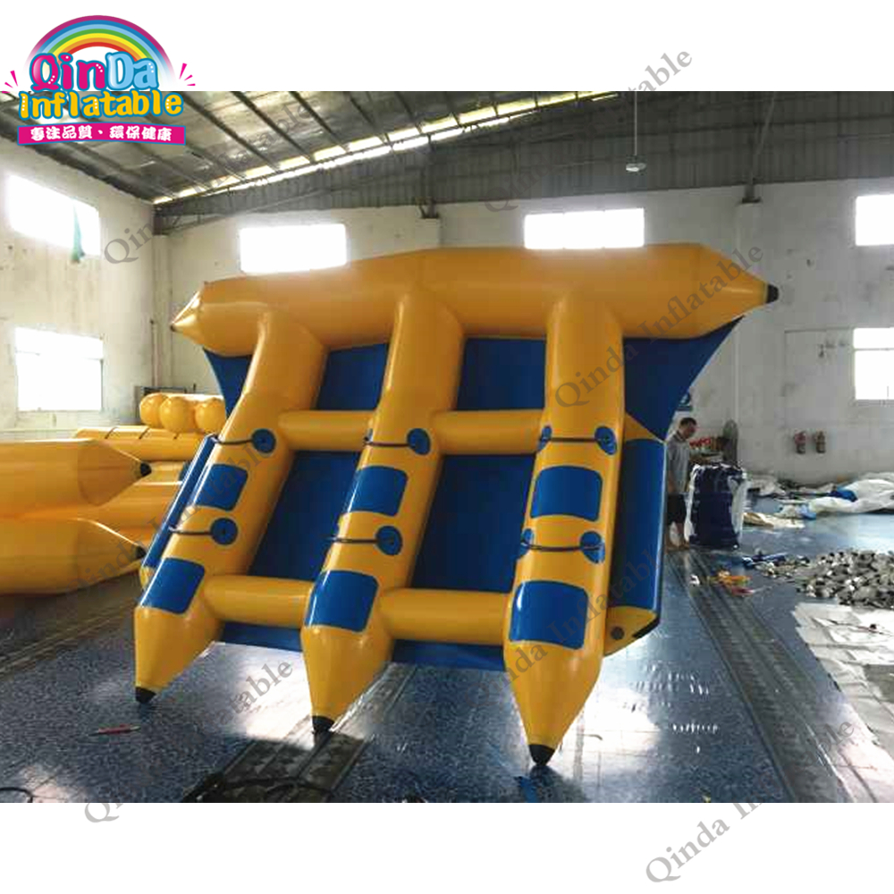 Popular water sport inflatable flying towable inflatable flying fish banana boat for adultsPopular water sport inflatable flying towable inflatable flying fish banana boat for adults