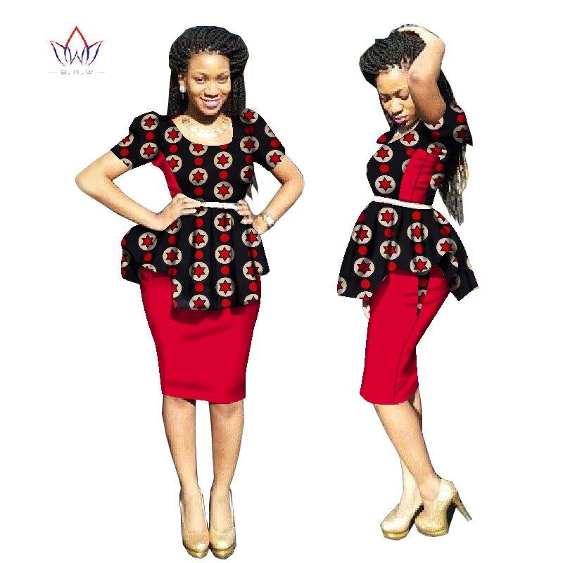 2018 Nykomlingar Traditionell afrikansk klänning Plus Storlek 2 - Nationella kläder - Foto 3