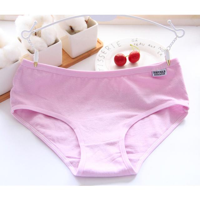 100% Cotton Panties Natural cotton briefs Lingerie Women Underwear Sexy Ladies Girls Panties Briefs Intimates Knickers for Women