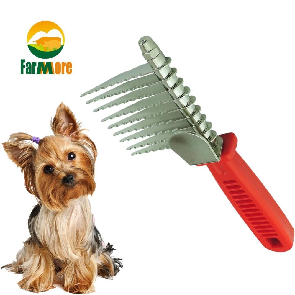 New Pet Dematting Tool Open Knot Comb Mat Comb Rake