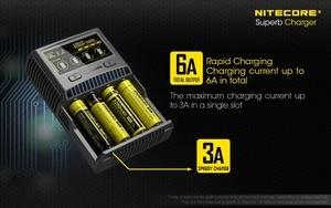 Image 2 - Nitecore SC4 インテリジェント高速充電極上充電器 4 スロット 6A 合計出力互換 imr 18650 14450 16340 単三電池