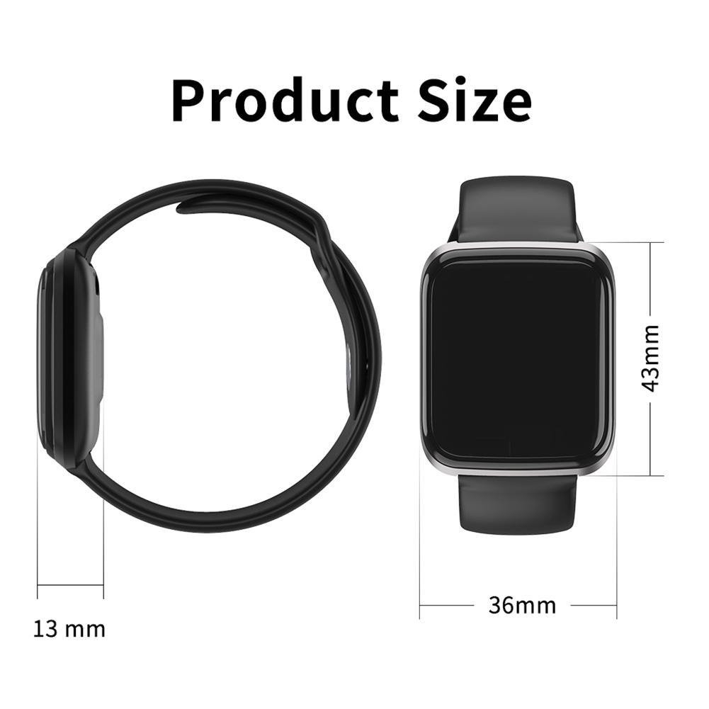Image 3 - NAIKU CY05 Смарт часы, браслет, порты, водонепроницаемый, фитнес, пульс, Мониторинг Артериального здоровья, давление, здоровье, шаг, удаленный просмотр-in Смарт-браслеты from Бытовая электроника