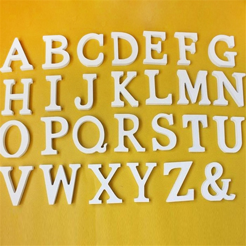 Large Wooden Letters Alphabet Wall Hanging Wedding Party Home ...