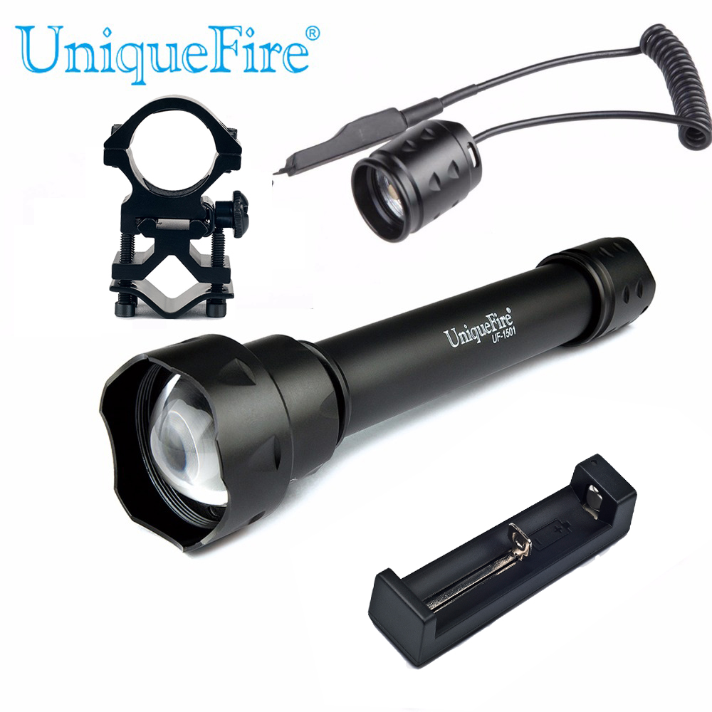 UniqueFire 1501 XML / XML-2 Tactical LED Flashlight Adjustable 5 Modes 10W LED Bulbs Torch+Scopw Mount+Rat Tail + Charger sitemap 415 xml