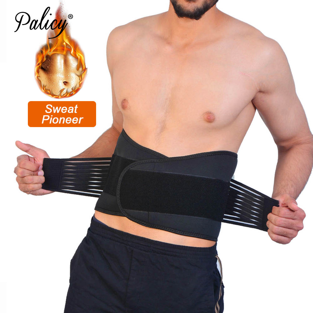 Slimming Belt for Men Girdle Belts Corset Waist Trainer Body Shaper Sauna Suit Shapewear Waist Trimmer Neoprene Support Belt Gym