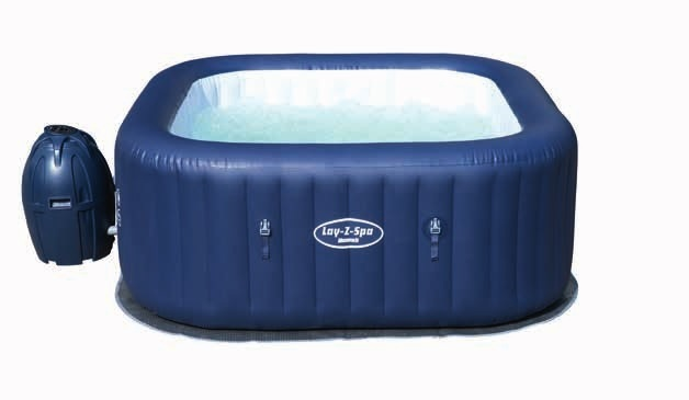 54154 BestWay 180x66cm Large Round Thick Inflatable Heating Swimming Pool 71x26 Lay-Z-Spa Miami SPA Inflatable SPA for Family