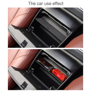 Image 3 - يصلح لمازدا MX 5 2015 2019 RF/MIATA سيارة تخزين مسند الذراع صندوق مركز وحدة التحكم قفاز درج منظم التحديثية تصنيف فرز