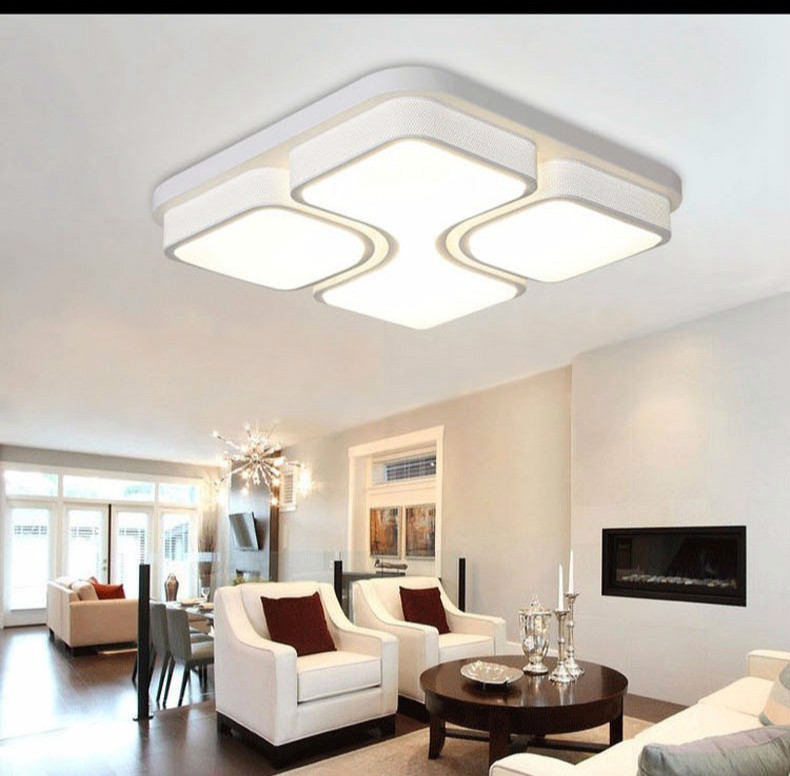 Aliexpress Com Buy Modern Acryl Led Ceiling Light With: Aliexpress.com : Buy Modern Led Ceiling Lights For Living