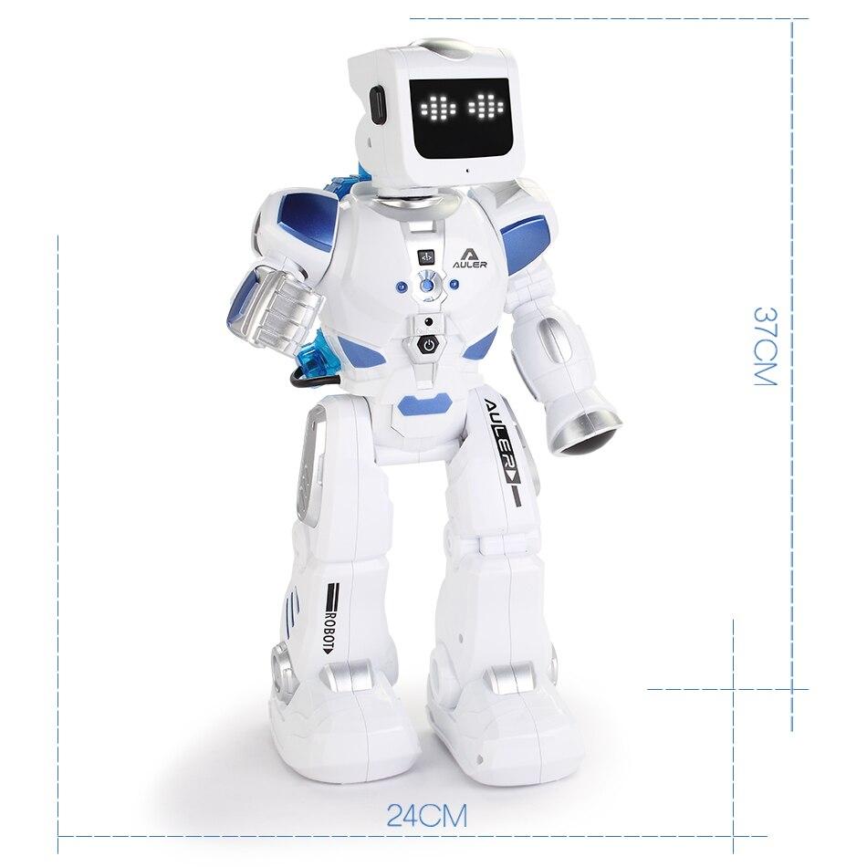 D'eau Au Volant Danse RC Robot Avec Anglais Musique Intelligente Télécommande Figurines Jouets Pour Enfants Enfants Cadeau D'anniversaire - 6