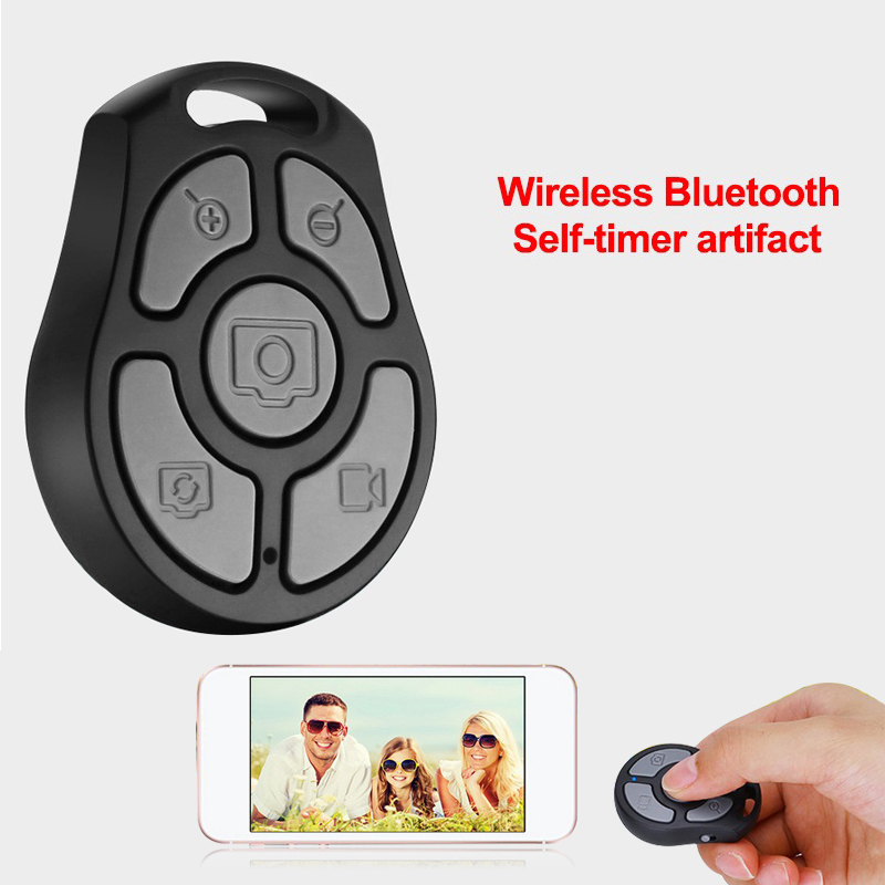 Wireless Remote Shutter Bluetooth Selfie Sticks For IOS & Andriod Mobile Phones Self-timer Fit Camera Shutter