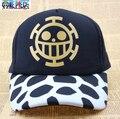 Бесплатная доставка Аниме One Piece Трафальгар ло Косплей Hat Cap Для Женщин Мужчин Бейсболка Новый