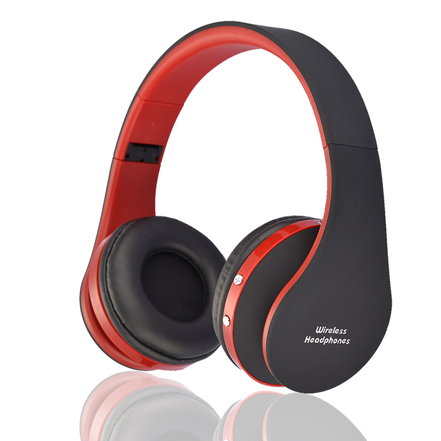 Earphones NX-8252 Foldable Stereo Active Noise Cancelling Wireless Bluetooth Headphones Headset Active