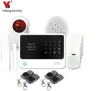 Yobang 2016 Alarmas Casas Venta Superior de La Manera Personal de Seguridad Wifi Alarma Gsm Gprs Sistema de Alarma, Sistemas de alarma de Seguridad Para el Hogar