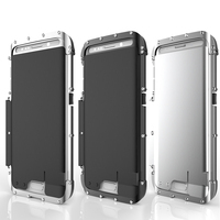 R JUST Armor King Stainless Steel Flip Metal Case for SAMSUNG Galaxy S7 Edge & S7 Powerful Anti Knock Protective Cover