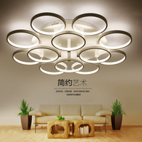 Factory Outlet Modern Acrylic LED Ceiling Lights AC85 260V Lamparas De Techo Ceiling Lamp Luster For