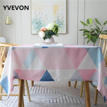 Kitchen Waterproof Table Cloth Cotton Dining Cover Rectangular Linen Tablecloths Home Party Modern Decor europe style cotton linen table cloth country style solid multifunctional table cloth rectangular table cover home kitchen decor