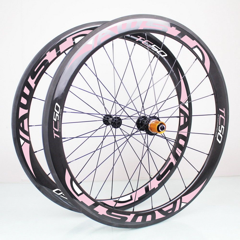 50mm Carbon wheels tubular and clincher 700c light full carbon wheelset with 271 372 hub fast delivery road bike new design carbon wheel titanium material light and more safe 50mm clincher 700c