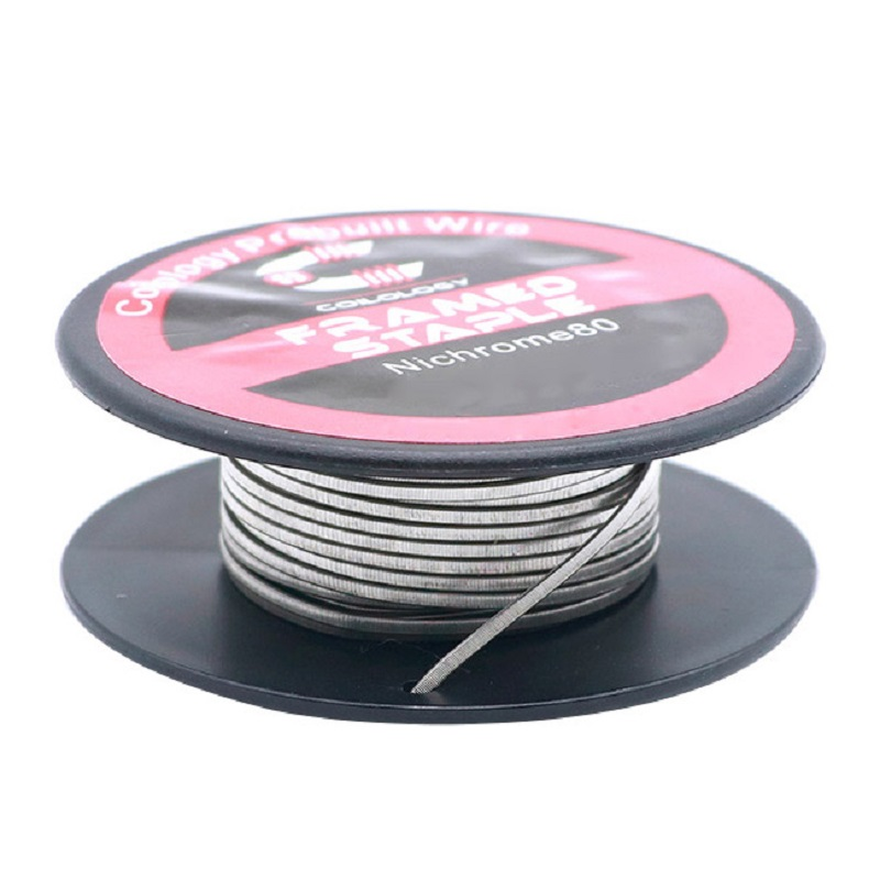Coilology Framed Staple (10 Feet)vape Coil Ni80 Heating Wire 28*2/36 AWG 1.4ohm/feet Coil Wire For DIY Rta Tank Vape Accessory