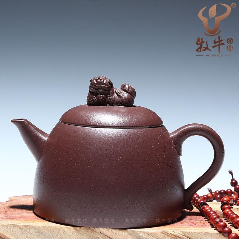 Authentic Yixing teapot lion Qinquan 270 ml gift LOGO Kung Fu tea custom mixed batch of special offerAuthentic Yixing teapot lion Qinquan 270 ml gift LOGO Kung Fu tea custom mixed batch of special offer