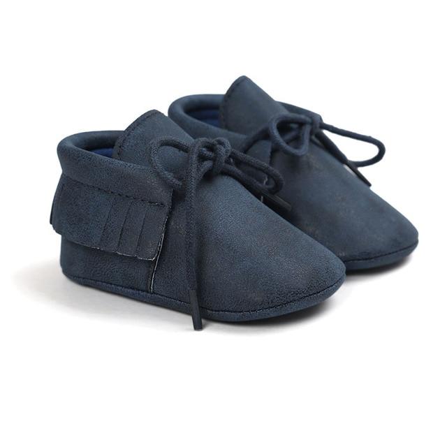 Zapatos bebé Londres miel 5
