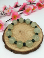 Women Men Nature Jade Bracelets / Natural Stone Lotus Beads Classic style / Storeage Wholesale