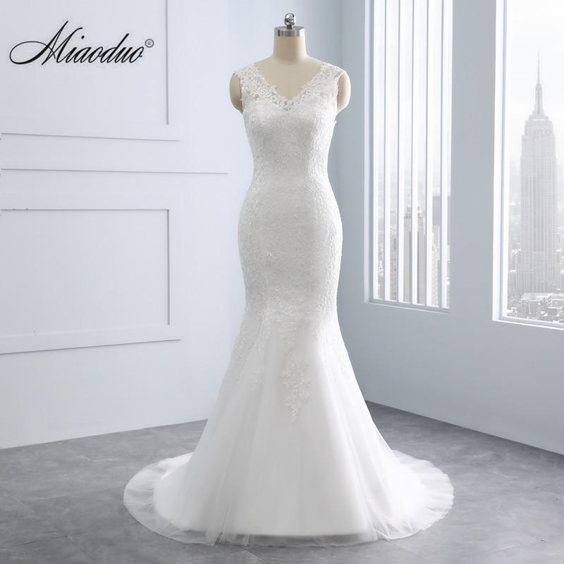 Aliexpress.com : Buy 2019 Mermaid V Neck Wedding Dresses