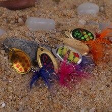Mix Style 5Pcs Fishing Lures Fishing Lifelike Tackle Bait With 3 Hooks include case Box