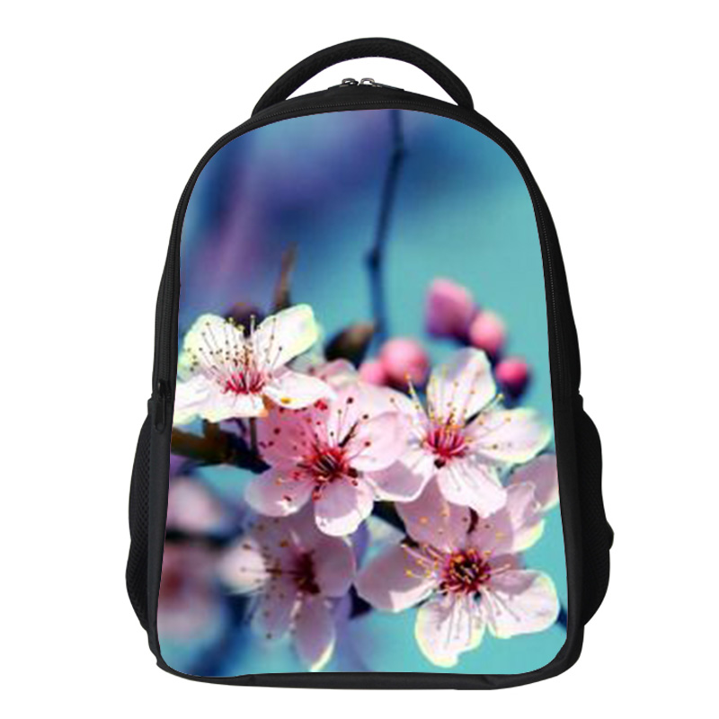 Girls cherry blossom Backpack Kids Oxford Personized School Bag Japanese Lanscape Painting Rucksack Casual Daypack for teenagers (13)