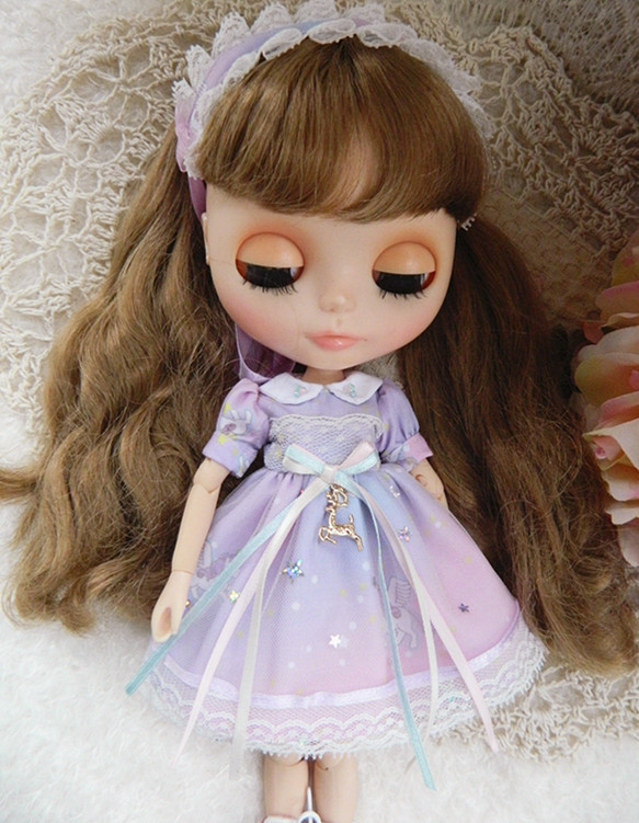 Free shipping high quality Clothes and hair bands for Blythe azone licca Doll Clothes Doll Doll Christmas Toys Gift beautiful classic hair brown and auburn lightspot fashion hair lady wig short hair high quality free shipping