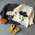 BBK 2016 осень зима детская детские личное Дождь облака сделаны из чистого хлопка вязать кардиган свитер пальто Дети свитер ребенка мальчик