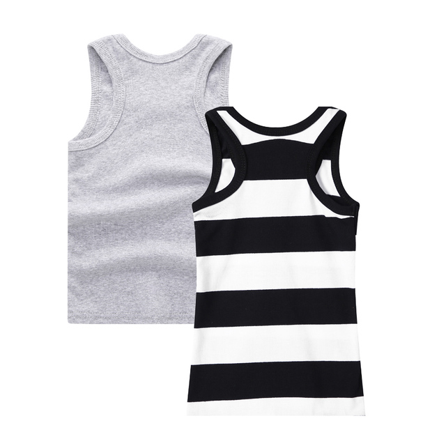 SheeCute 2-pack chindren Sleeveless T Shirt girls boys Undershirts Tank Top A Shirt 0932 1