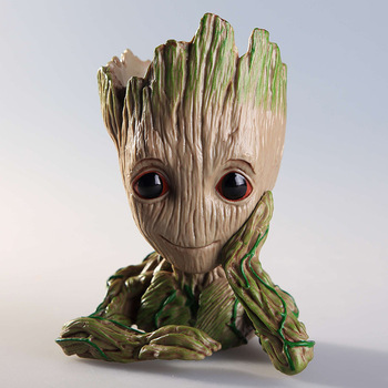 baby groot for Figure Toys Flowerpot Planter, Tree Man Cute Model Toy Pen Pot Action Figures 1