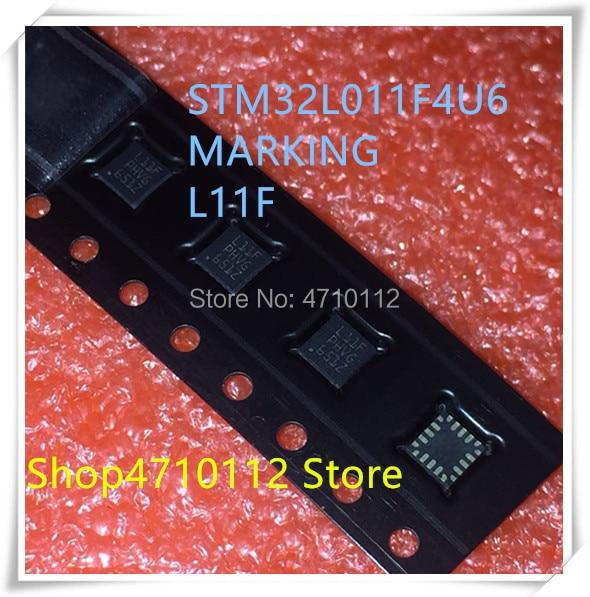 NEW 10PCS LOT STM32L011F4U6 STM32L011 MARKING L11F UFQFPN 20 IC
